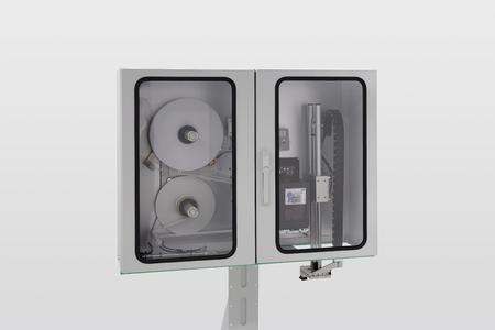 Speziell für den Einsatz in staubigen Umfeldern: der Legi-Air 4050 I mit Schutzschrank und IP 60-Schutz