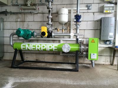 Bild 1: Die Produktreihe »Enerheat R-EH« war die erste Power-to-Heat- Lösung von Enerpipe für die Bereitstellung von Regelenergie