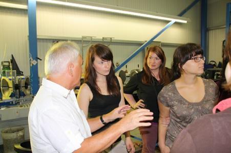 Besuch Career Service der TU Chemnitz mit Studenten