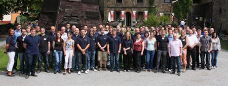 Die SimPlan Gruppe im Jahr 2011