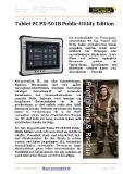 [PDF] Pressemitteilung: Tablet PC PX-501B Public-Utility Edition