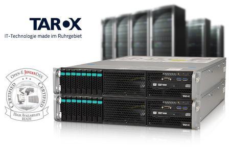 Open-E zertifiziert TAROX ParX R2082i G5 für Hochverfügbarkeit