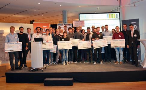 """Alle Preisträger des Wettbewerbes """"Zukunftspreis Kommunikation"""" 2014"""