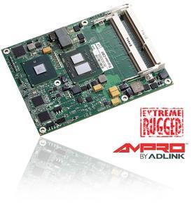ADLINK Technology kündigt Extreme Rugged™ COM Express™ Modul auf Basis des Intel® Core™ i7 Prozessors an