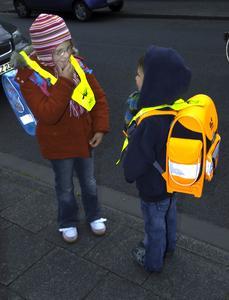 Reflektoren für mehr Sicherheit im Straßenverkehr