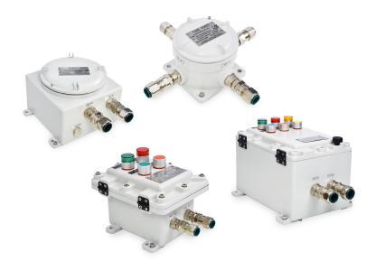 ROSE Systemtechnik bietet Ex-d-Gehäuse mit druckfester Kapselung in unterschiedlichen Größen und Ausführungen an
