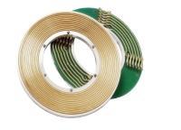 Schleifringe in Tellerbauweise haben eine flache, konzentrische Form und eigenen sich vor allem für platzbeschränkte Anwendungen Bild: Servotecnica