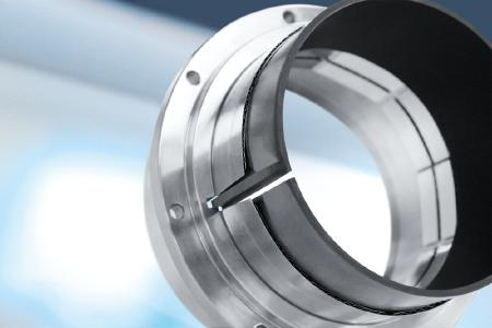 With speeds from 20,000 to 70,000 rpm, the shaft bearing of turbo blowers assumes particular importance