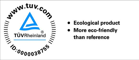 Figure 1: The inorganic binder system INOTEC™ was awarded the best possible scores in  the comparative environmental lifecycle assessment and the critical advisory assessment.