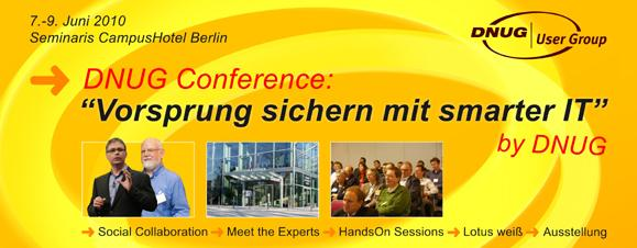 DNUG vom 7. bis 9. Juni in Berlin