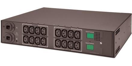 Der Transfer Switch bietet eine redundante Stromversorgung für IT-Hardware, die nur über ein Netzteil verfügt.