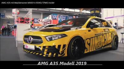 AMG A35 Model 2019 included MaxSensor MX001A RDKS/TPMS Sensor!
