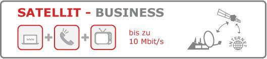 banner satellit business