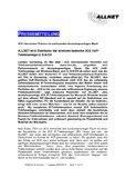 [PDF] Pressemitteilung: ALLNET wird Distributor der windows-basierten 3CX VoIPTelefonanlage in D/A/CH