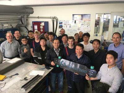Deutsches Ausbildungs-Know-how für südkoreanische Unternehmen; Besuch bei SGL Carbon