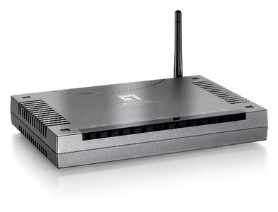 """WBR-3470 Wireless Surf & Call Router mit """"Easy Sign - On"""" Technologie"""