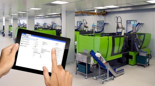 The mobile data collection with the new, ergonomic apps makes the daily production routine considera-bly easier