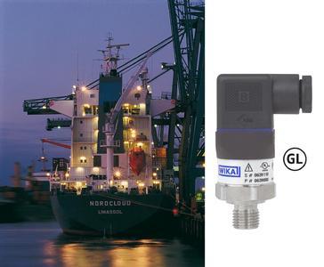 Druckmessumformer A-10 mit GL Zulassung vor allem für klassische Anwendungen auf einem Schiff