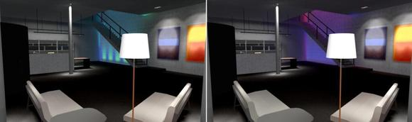 Foyer mit RGB-Steuerung (Quelle: DIAL)