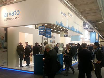 arvato Systems at Frankfurt book fair
