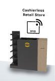 Die von DXC, HARTING Systems und Murata gemeinsam entwickelte RFID-basierte Kassenlösung erfasst den Warenkorb mit einem einzigen Scan