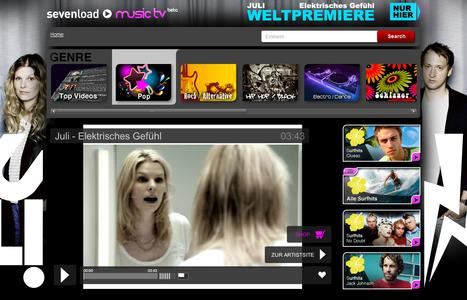 sevenload music tv