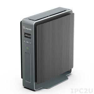 Effiziente IT-Strukturen mit dem Airtop3-C4900-FM0 werden durch die hohe Performance eines Intel Celeron G4900 Dual Core CPU (8. Generation Coffee Lake) mit einem 2666 MHz DDR4 RAM als Arbeitsspeicher garantiert und bietet die Option zu einer Grafikkarte mit weiteren 6 GB oder 8 GB dediziertem Speicher als Koprozessor