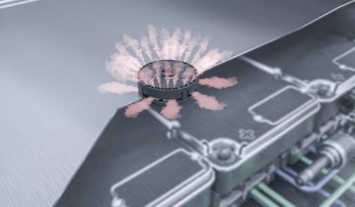Freudenberg Sealing Technologies macht Lithium-Ionen-Akkus durch schnelle Notfall-Entgasung sicherer