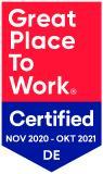 USU erhält als attraktiver Arbeitgeber Great-Place-to-Work-Zertifizierung