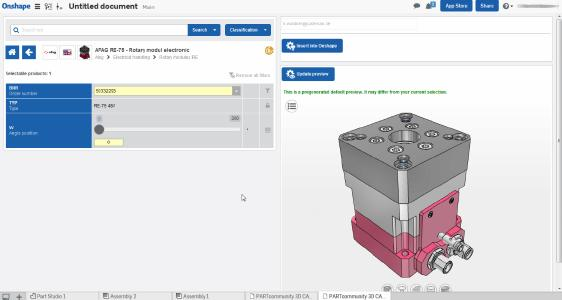 PARTcommunity Integration in Onshape
