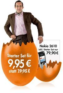 Frohe Ostern: simyo Starter-Set und Nokia Handy zu extra-günstigen Konditionen