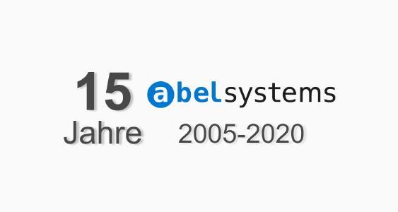 15 jahre Abel Systems aus Basel, Schweiz