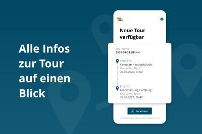 Details Tourdriver App