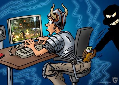 Online-Spieler im Fadenkreuz Cyberbanden