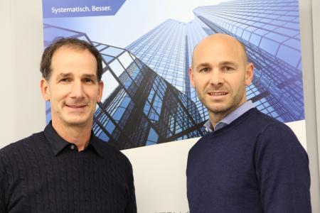 Josef Sigel, Geschäftsführer der Sigel & Stuhr Gmbh, und Christian Hörburger, Vorstandsvorsitzender der Hörburger AG, gehen in Zukunft gemeinsame Wege.