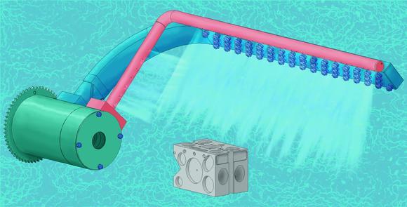Das rotierende Heißluft-Trocknungssystem von MAFAC bietet neben einer deutlichen Reduzierung der Prozesszeiten auch eine signifikante Effizienzverbesserung durch gesteigerte Trocknungsleistung