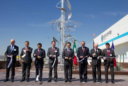 Queretaro inauguration Copyright Eurocopter