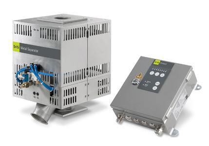 Der Protector-XHT ist ein Metall-Separator in Hochtemperaturausführung für eine Materialverarbeitungstemperatur von max. 200°C 300 dpi