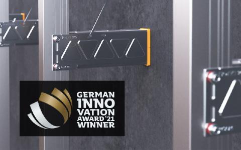 Das CROSSFIX® Unterkonstruktionssystem aus Edelstahl für den hinterlüfteten Fassadenbau von EJOT wurde mit dem German Innovation Award ausgezeichnet.
