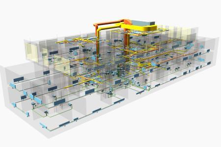 Neubauplanung eines Praxis- und Bürogebäudes von WIEDEMANN Technik und Beratung (WTB)