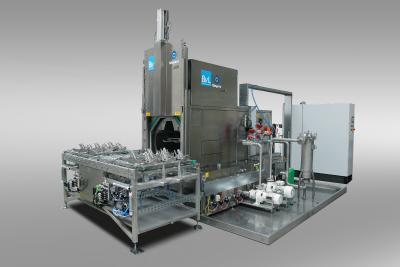 The NiagaraDFS basket washing system from BvL, for example, offers optimum integration options for Libelle Product Control