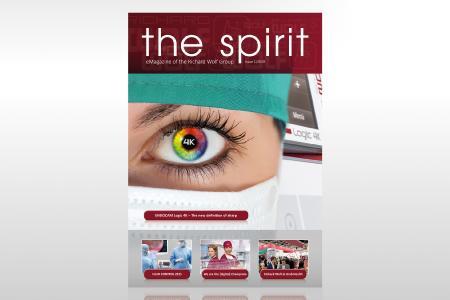 Richard Wolf the spirit Cover