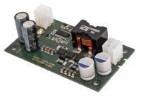 Kombinierte DC-Hoch-/Tiefsetzsteller mit 110 W Leistung und Betrieb bis +50 °C ohne Kühlung und ohne Derating: Die Baureihe DCBBxx-110 von Elec-Con ist nicht größer als eine halbe Packung Papiertaschentücher. © Elec-Con