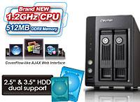 QNAP Announces 2.5-inch and 3.5-inch SATA HDD TS-219P Turbo NAS