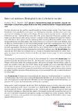 [PDF] Pressemitteilung: Bahn soll stärkeres Bindeglied in der Lieferkette werden