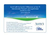 AsstrA TRANSRUSSIA Banner
