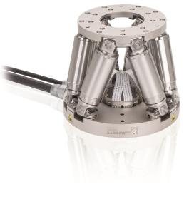 Optimized for high throughput and long lifetime: Precision miniature hexapod for industrial applications (Image: PI)