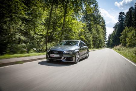 Die unverbindliche Preisempfehlung liegt bei 499 Euro und die KW Gewindefedern sind für alle Audi RS3 der 8V-Baureihe mit oder ohne elektronisch einstellbares Serienfahrwerk erhältlich.