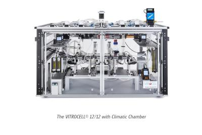 VITROCELL® 12/12 now available with Climatic Chamber