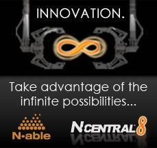 N-central 8 Logo